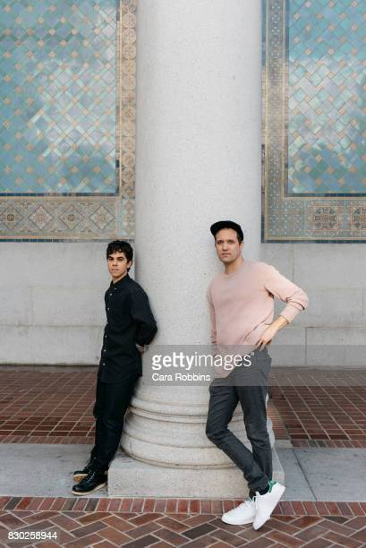 Electric Guest are photographed for Urban Outfitters on February 13 2017 in Los Angeles California