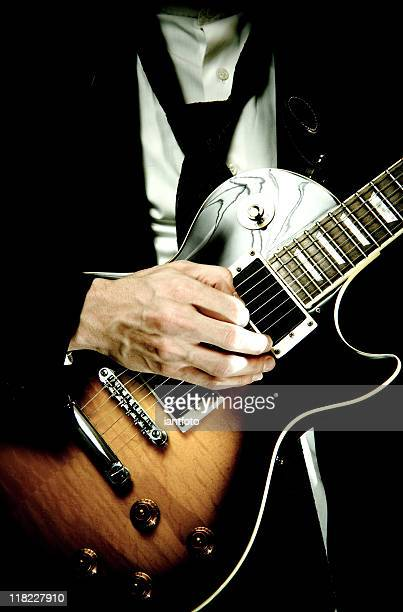 electric guitar close up - blues music stock pictures, royalty-free photos & images