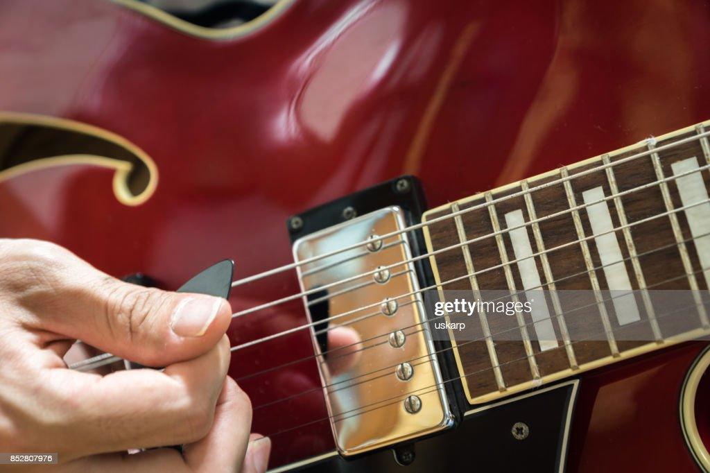 Electric Guitar Closeup Stock Photo Getty Images