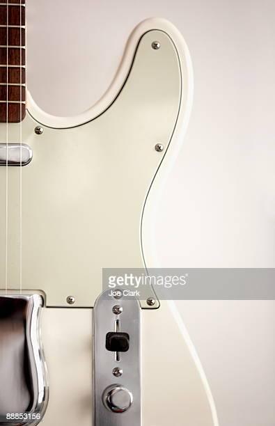 Electric guitar, close-up