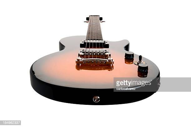 Electric Guitar isolated with Clipping Path
