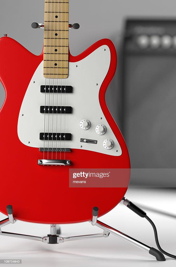 Electric Guitar : Stockfoto