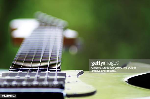 electric guitar - gregoria gregoriou crowe fine art and creative photography stockfoto's en -beelden