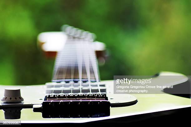 electric guitar - gregoria gregoriou crowe fine art and creative photography. stock-fotos und bilder