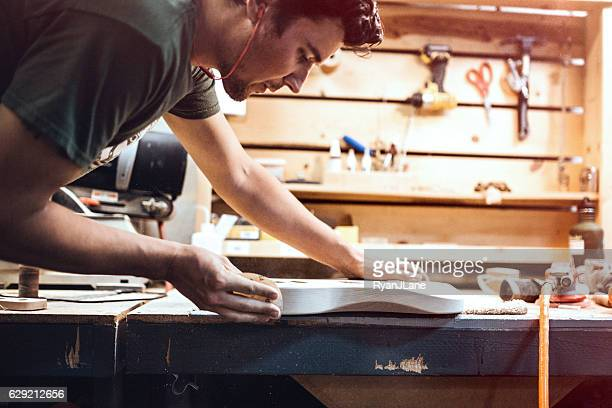 Electric Guitar Production Shop Start-Up
