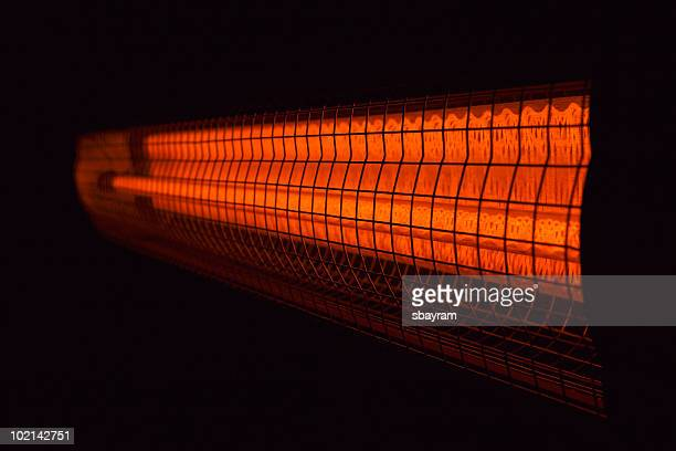 electric heater - infrared lamp stock photos and pictures