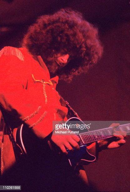 Electric Light Orchestra ELO perform on stage at Reading Festival June 1972 UK Jeff Lynne