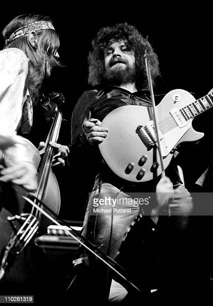 Electric Light Orchestra ELO perform on stage UK Jeff Lynne
