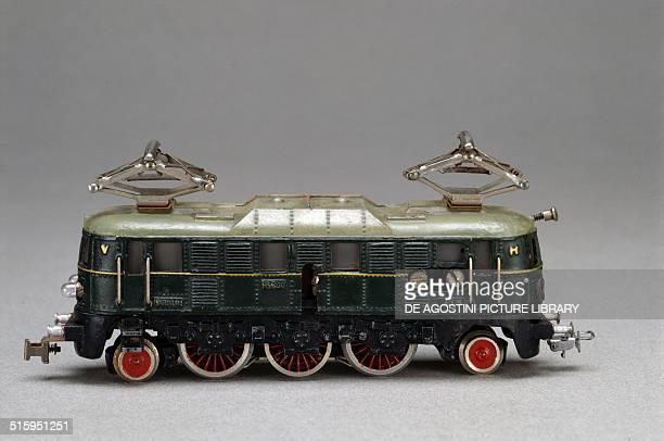 Electric locomotive toy made by Marklin 1937 Germany 20th century Milan Museo Del Giocattolo E Del Bambino