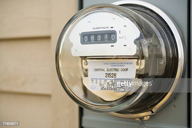 Electric Meter on Outside of House