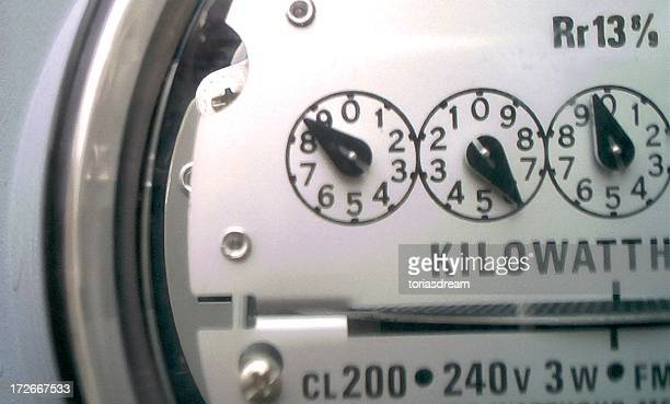 electric meter - kilowatt stock pictures, royalty-free photos & images