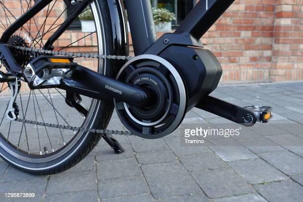 電動自転車の電動モーター - 変速ギア ストックフォトと画像