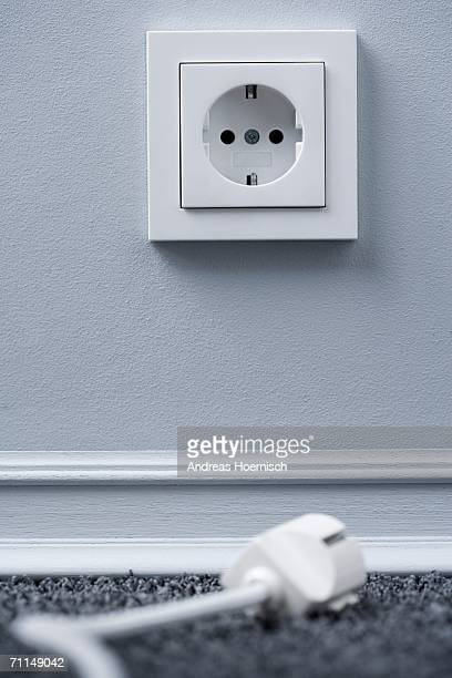 Electric plug and socket (focus on socket)