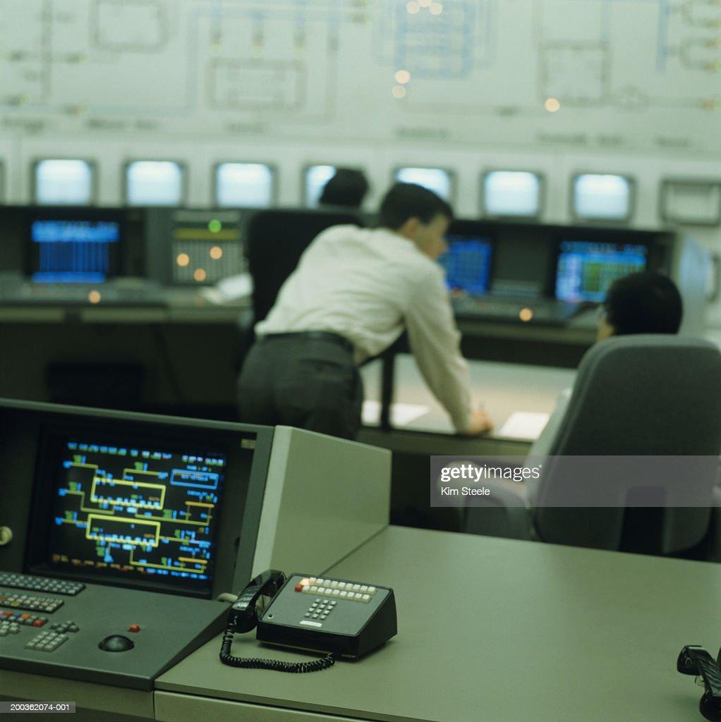 Electric power distribution headquarters; con edison : Stock Photo