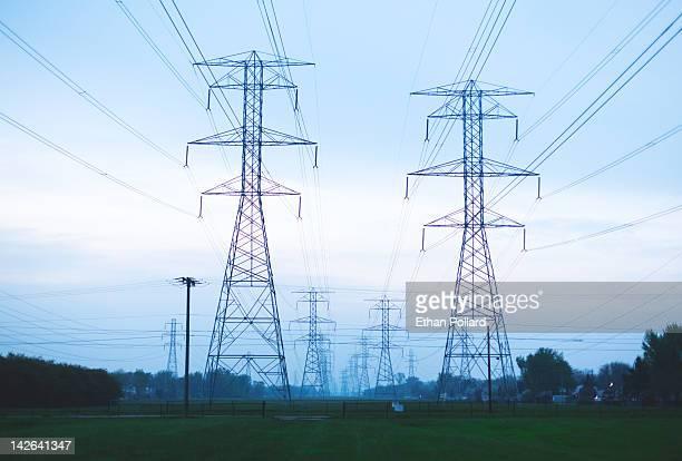 Electric Pylons fields