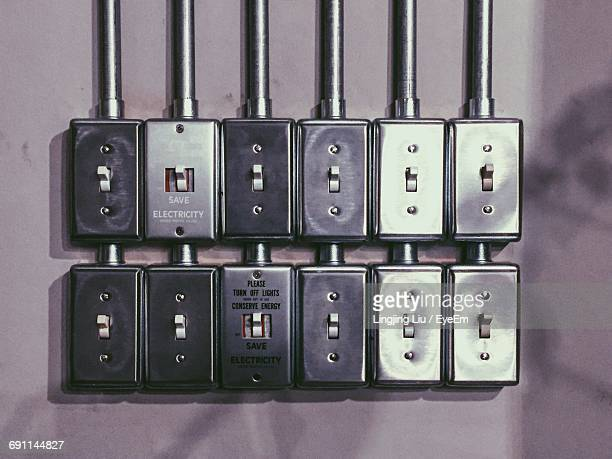 Electric Switches On Wall