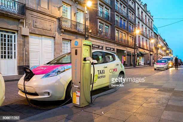 Mexico City Taxi voiture électrique