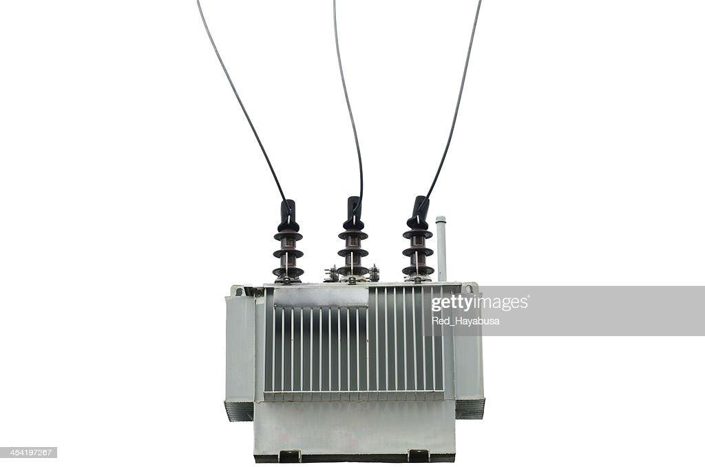 electric transformer : Stock Photo