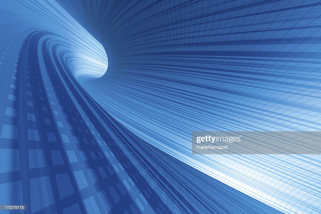 Electric Tunnel : Stock Photo