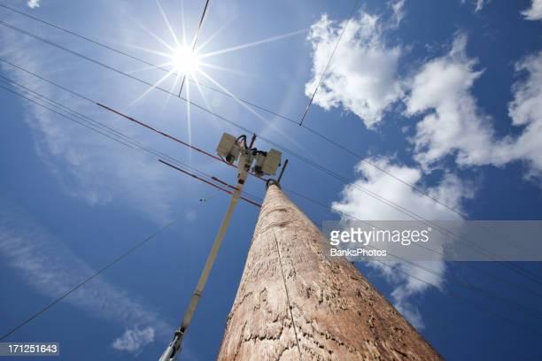 Electric Utility-Boom Eimer und neue Stab mit Sonne