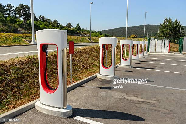 Electric vehicle charger station