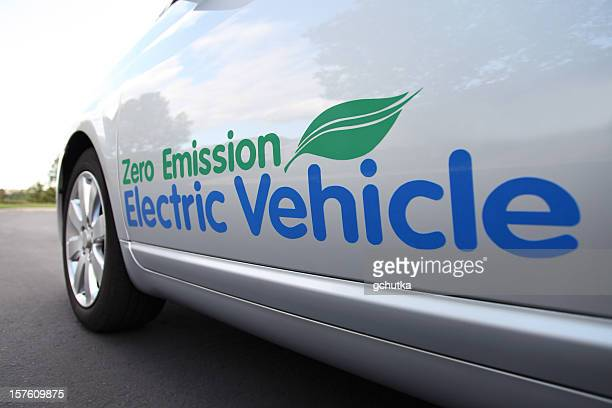 Electric Vehicle Close Up