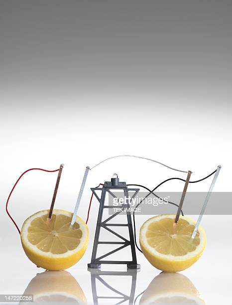 Electrical circuit with lemons