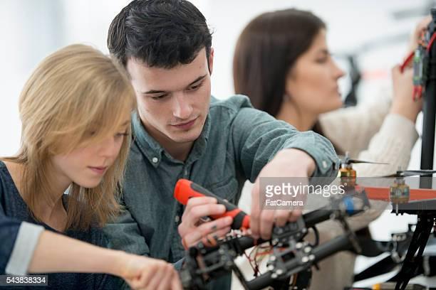 Elektrische College-Handel Studenten