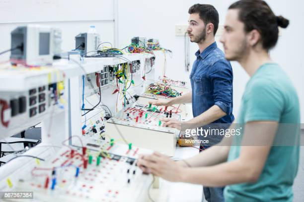 electrical engineering laboratory - high school musical: the musical: the series stock photos and pictures