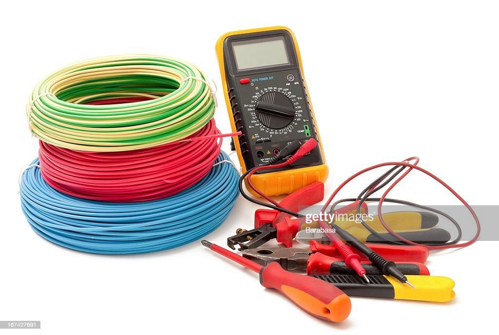Equipamento eléctrico : Foto de stock