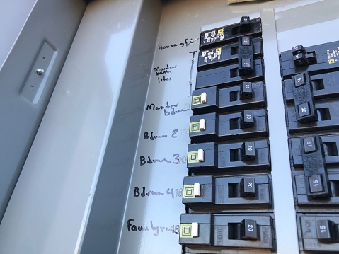 Electrical fuse box 1035384474