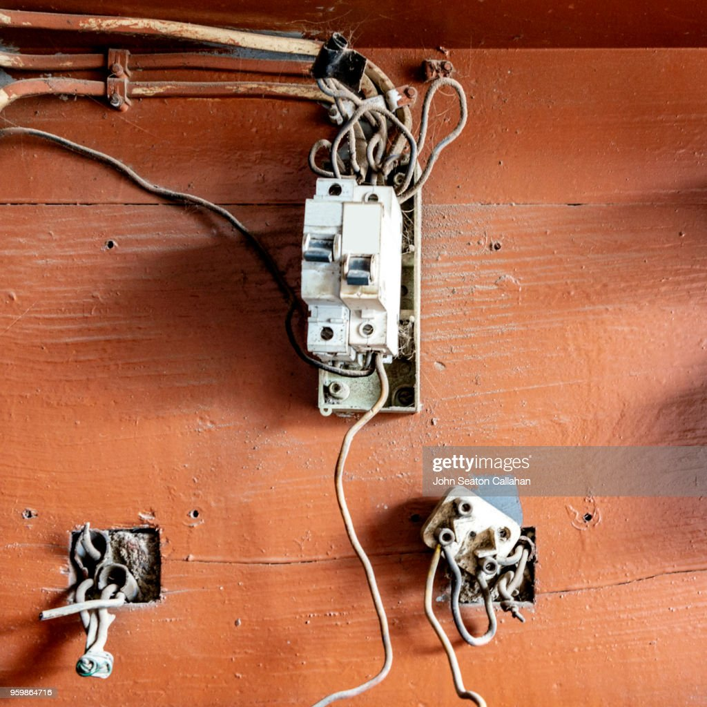 Electrical Fuse Box : Stock-Foto