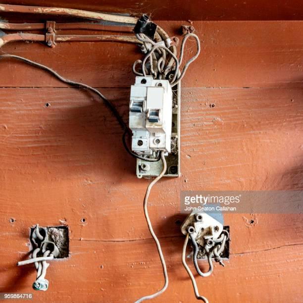 electrical fuse box - ナンプラ ストックフォトと画像
