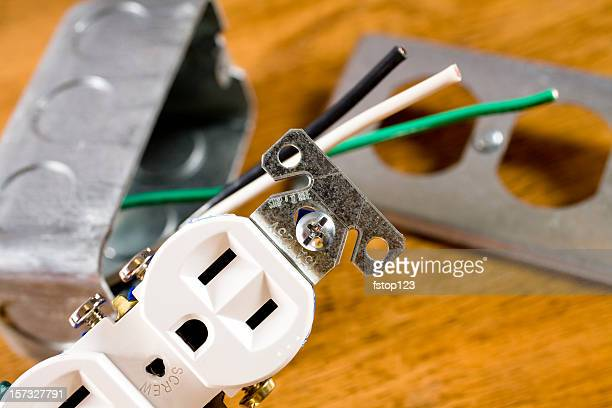 electrical plug - electrical box stock pictures, royalty-free photos & images