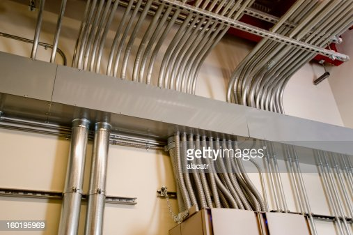 Electrical Raceway And Emt Conduit Stock Photo Getty Images