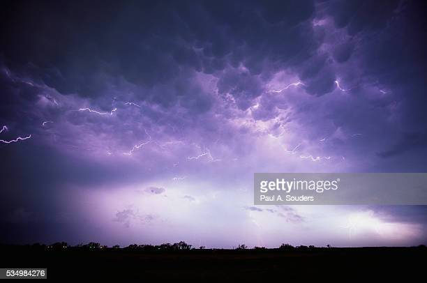 Electrical Storm Above Texas
