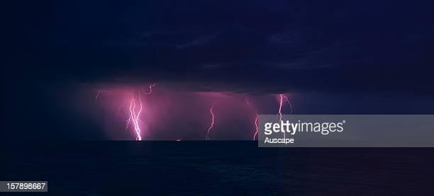 Electrical storm Great Sandy Desert Western Australia