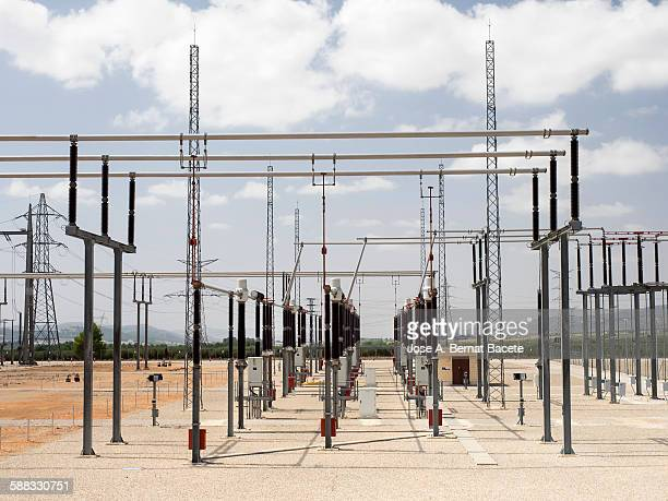 Electrical substation of high tension