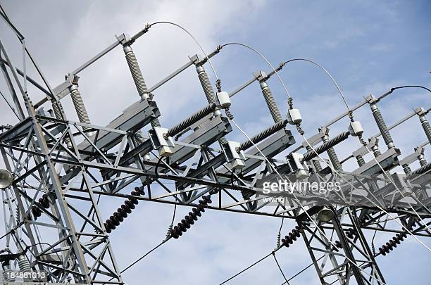 Electrical Substation Wires