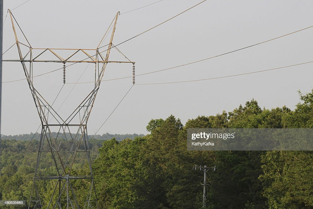 Electrical Tower : Stock Photo