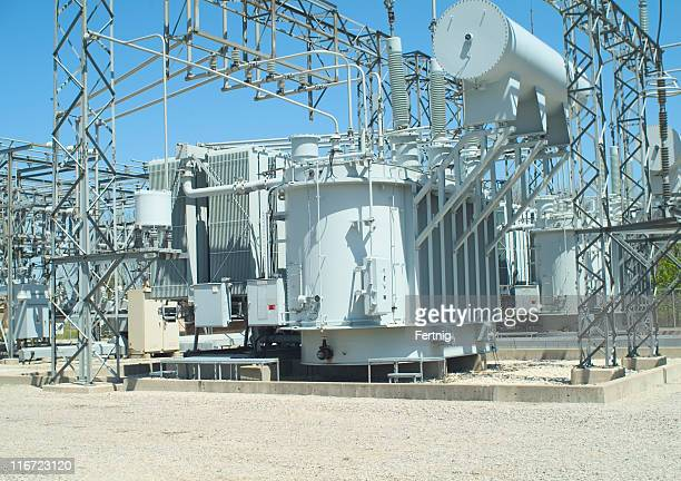 Electrical transformer sub-station