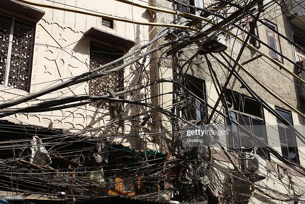 Brilliant Electrical Wiring In Old Delhi India News Photo Getty Images Wiring 101 Ferenstreekradiomeanderfmnl