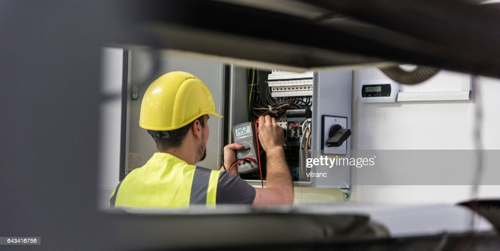 Electrician : Stock Photo