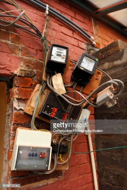 Electricity fuse boxes and meters requiring repair UK