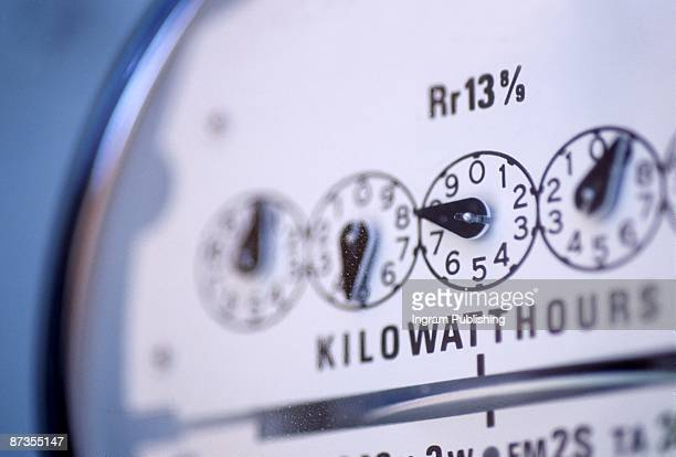 electricity meter - kilowatt stock pictures, royalty-free photos & images