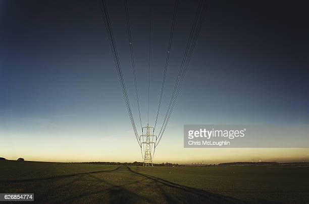 electricity pylon - electrical component stock photos and pictures