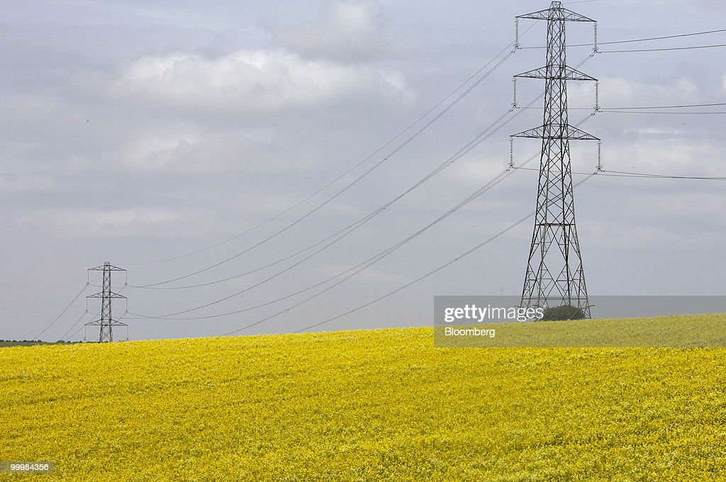 Power Grids Ahead Of National Grid FY Earnings : News Photo
