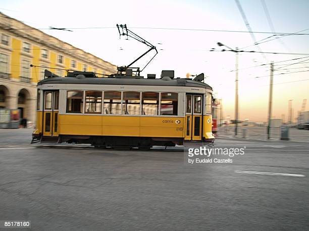 o electrico - tram stock photos and pictures