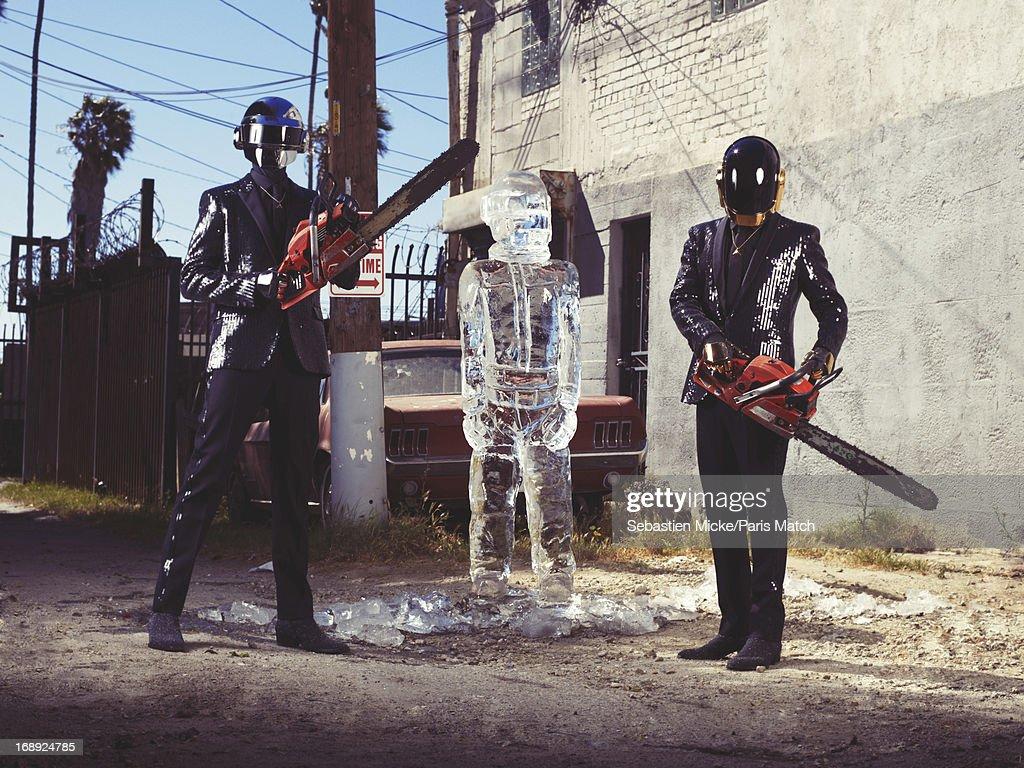 Daft Punk, Paris Match, Issue 3339