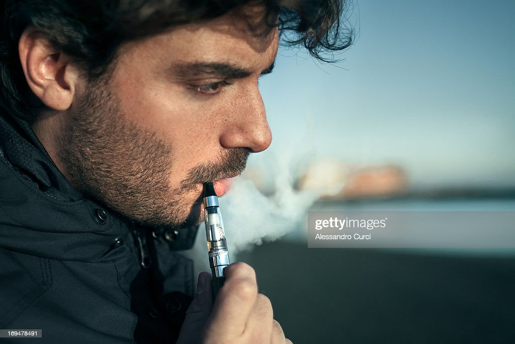 Electro Smoker : Stock Photo